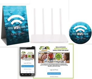 WiFi CONNECT w/Setup and Marketing Kit